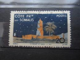 VEND BEAU TIMBRE DE LA COTE FRANCAISE DES SOMALIS N° 281 , (X) !!! - Côte Française Des Somalis (1894-1967)