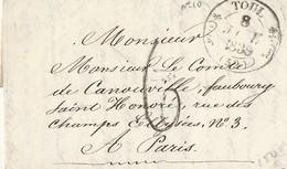 Lac Adressée Au Comte De Canouville Maréchal Des Logis Du Palais De L'Empereur 1839 - 1801-1848: Precursors XIX