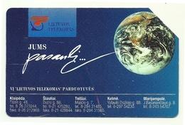 Lituania - Tessera Telefonica Da 25 Units T539 - Lietuvos Telekomas- - Lithuania