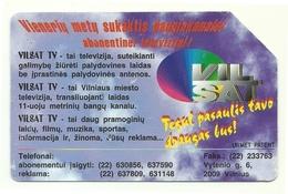 Lituania - Tessera Telefonica Da 25 Units T540 - Lietuvos Telekomas- - Lithuania