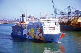 7X5 PHOTO OF MOBY DADA EX FINLANDIA ETC - Boats