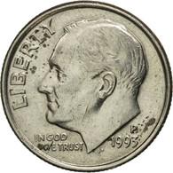 Monnaie, États-Unis, Roosevelt Dime, Dime, 1993, U.S. Mint, Philadelphie, TB+ - Bondsuitgaven