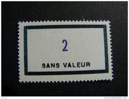 FICTIFS NEUF ** N°F153 SANS CHARNIERE (FICTIF F 153) - Phantom