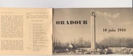 Vieux  Papier  :  Brochure   De  ORADOUR   , Vienne - Vieux Papiers