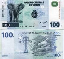 Congo 100 Francs 2007 - 13 UNC - Congo