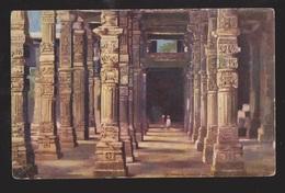Colonnade, Hindoo Pillars, Delhi, India - Unused - Corner Wear - India