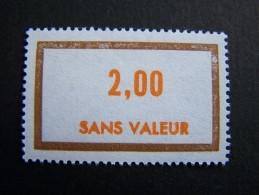 FICTIFS NEUF ** N°F202 SANS CHARNIERE (FICTIF F 202) - Fictifs