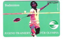 GERMANY - O 192E  08/93 - Kelloggs - Jugend Trainiert Für Olympia - Badminton - Sport - Mint - Deutschland