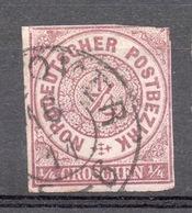 GERMANIA  DEL NORD 1868-69   O,5 G. - Allemagne