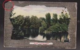 Sweet Summertime - Scene With River & Trees, German Card - Used 1912 Damaged - Other