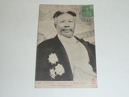 CAMBODGE PHNOM-PENH, SA MAJESTE SISODATH - ROI DU CAMBODGE (buste) - ASIE INDOCHINE (AC) - Cambodge