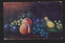 Painting Of Fruit - Used In Canada 1909 -  Corner & Edge Wear - Paintings