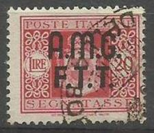Trieste Zone A - 1947 Postage Due Arms  20L Used (2-line Overprint)   SG D47 Sc J5 - 7. Trieste