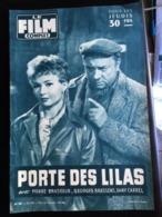 Film Complet Porte Des Lilas Pierre Brasseur Georges Brassens Dany Carrel 4eme De Couve Georges Montgomery - Other