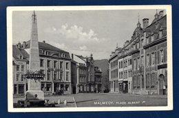 Malmédy. Place Albert 1 Er. Fontaine-obélisque. Hôtel Bristol. Café De L'Amitié - Malmedy