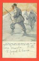 FRANCHIGIA MILITARE N. 141/12b - ANNULLO 25° DIVISIONE - ALPINI - 1900-44 Vittorio Emanuele III