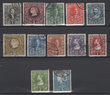 Monténégro. 1910: N° 88/99 Oblitérés. Cote Y&T 2012: 10 € - Montenegro