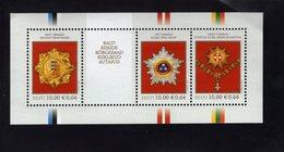 614141671 ESTLAND ESTONIA 2008 ** MNH  SCOTT 593 STATE AWARDS OF THE BALTIC COUNTRIES - Estonie