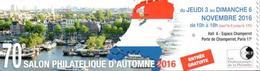 Signet CNEP 70e Salon D'Automne 2016 - Advertising