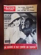 """Revue """"le Soir Illustré"""" N° 1336 / Reine Elisabeth Au Congo - Marlon Brando - Le Marché Commun - Line Renaud... - Informations Générales"""