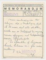 Memorandum Veldpostkantoor 9 Middelburg 1940 - Periode 1891-1948 (Wilhelmina)