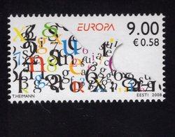 614146957 ESTLAND ESTONIA 2008 ** MNH  SCOTT 596 EUROPA - Estonie
