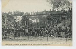 GUERRE 1914-18 - FREVENT - Le Pont Du Marais En Voie De Construction (17 Octobre 1914) - Frankrijk