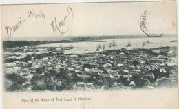 Reunion  View Of The Down Of Port Louis  Harbour - Réunion
