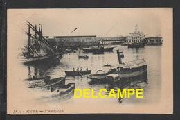 DF / ALGÉRIE / ALGER / L' AMIRAUTÉ / ANIMÉE / CIRCULÉE EN 1905 - Algiers