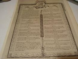 ANCIENNE EXTRAIT DECLARATION DE L HOMME 1939 - Advertising