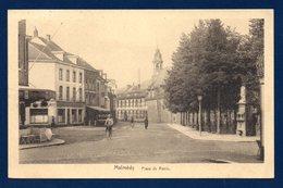 Malmédy. Place De Rome. Banque De Bruxelles. Restaurant.1938 - Malmedy