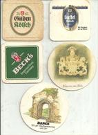 Sottobicchieri Birra (Sotto Bicchieri) N. 5 - Sotto-boccale