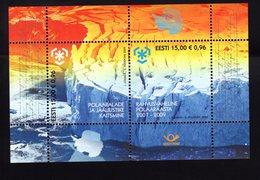 614155435 ESTLAND ESTONIA 2009 ** MNH  SCOTT 610 INTERNATIONAL POLAR YEAR - Estonie