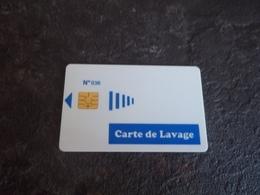 ANCIENNE CARTE A PUCE LAVAGE NUMEROTEE B.E !!! - Frankrijk