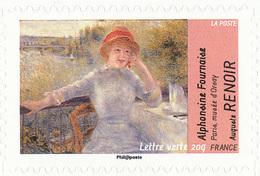 FRANCE Le Thème De L'eau. Auguste RENOIR Neuf**. Alphonsine Fournaise - Impressionisme
