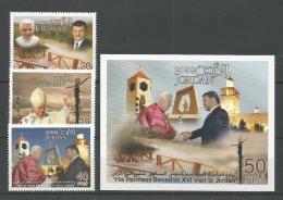 A01846)Benedikt XVI., Jordanien 1998 - 2000** + Bl 133** - Papes
