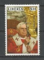 A01849)Benedikt XVI., Liberia 5276** - Papes