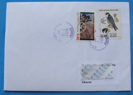 2018 AIRMAIL LETTER SENT FROM FRANCE TO ALBANIA - France