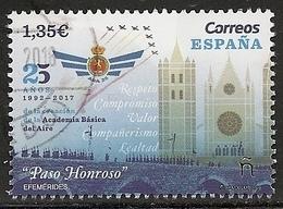 2018-ED. 5239 -25 Aniversario De La Creacion De La Academia Básica Del Aire - USADO- - 1931-Tegenwoordig: 2de Rep. - ...Juan Carlos I