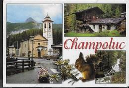 VAL D'AOSTA - CHAMPOLUC  - VIAGGIATA 2011 - Italia