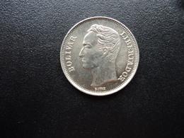 VENEZUELA : 1 BOLIVAR  1989   Y 52a.2      SUP - Venezuela