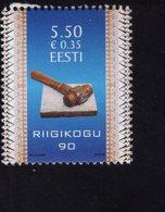 614158612 ESTLAND ESTONIA 2009 ** MNH  SCOTT 616 ESTONIAN PARLIAMENT 90TH ANNIV - Estonie