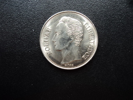 VENEZUELA : 1 BOLIVAR  1990   Y 52a.2      SUP - Venezuela