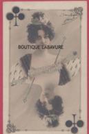 ARTISTE-- SAHARET--Danseuse De Cancan--Dame De Trefle---Précurseur - Artisti