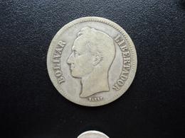 VENEZUELA : 2 BOLIVARES   1926    Y 23     TB / B+ - Venezuela