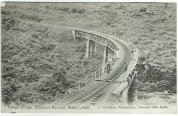 Sierra Leone. Congo Bridge. Mountain Railway. - Sierra Leone