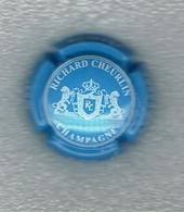 CAPSULE De CHAMPAGNE / RICHARD CHEURLIN  - 10  AUBE  / BLEU CIEL N° 8 / Bon Etat - Sonstige