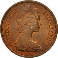 Monnaie, Grande-Bretagne, Elizabeth II, 2 New Pence, 1981, TB, Bronze, KM:916 - 1971-… : Monnaies Décimales