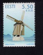 614161546 ESTLAND ESTONIA 2009 ** MNH  SCOTT 626 WINDMILL ANGLA - Estonie