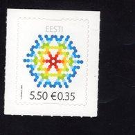 614162104 ESTLAND ESTONIA 2009 ** MNH  SCOTT 628 629 CHRISTMAS - Estonie